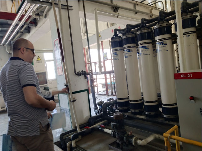 30-ton UF ultrafiltration system for seawater desalination