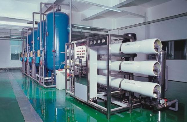 Large pure water equipment