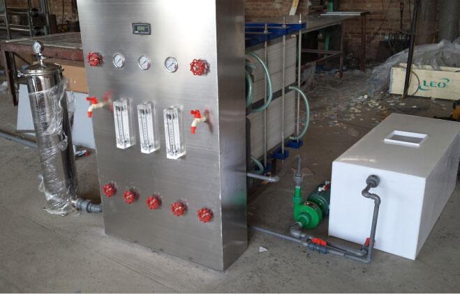 1T electrodialysis equipment