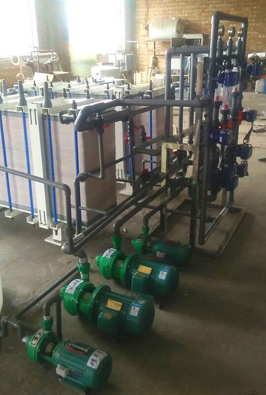 Water reuse electrodialysis equipment