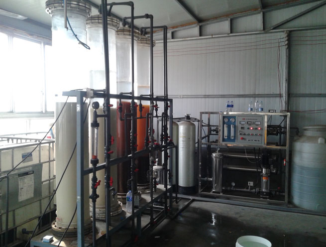 Urea solution equipment